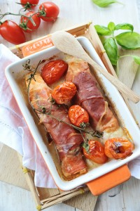 Vleeschwaar recept vleeswaren Italiaanse mini rollade rauwe ham