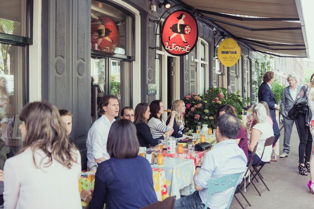 Vleeschwaar Of je worst lust interview Kees Elfring Restaurant Worst Marius Amsterdam