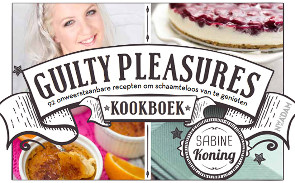 Vleeschwaar OhMyFoodness Guilty Pleasures kookboek Oh My Foodness Sabine Koning