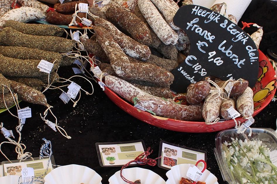Vleeschwaar Uit Feel Good Market Eindhoven vleeswaren worst