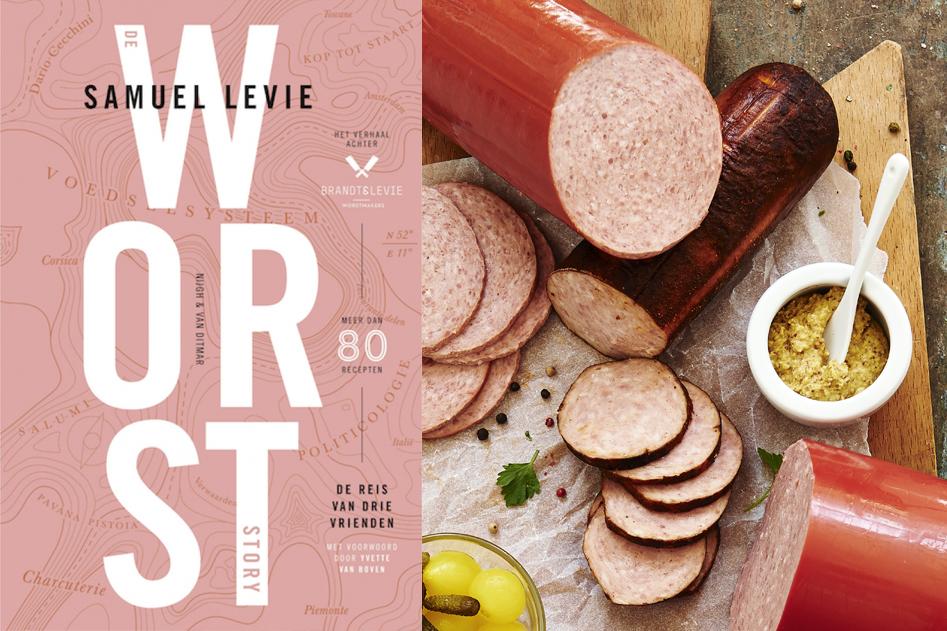 Vleeschwaar vleeswaren boek worst Brandt Levie De worst story worstmakers