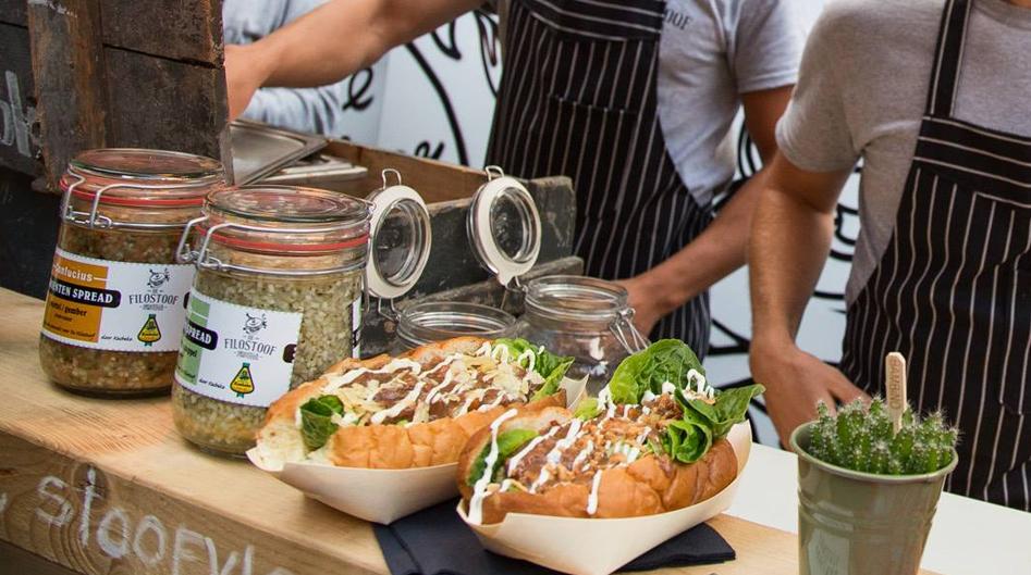 Vleeschwaar uit Food Soul Festival Amsterdam de filostoof food truck