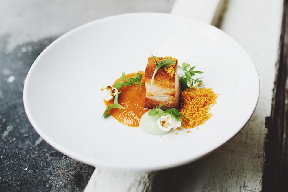 Vleeschwaar Of je worst lust interview Nick Swinkels Restaurant Staets Amsterdam Soul Food Concepts gerecht