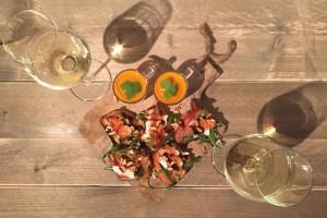 Vleeschwaar recept bruschetta pancetta buffelmozzarella bourgondisch samen