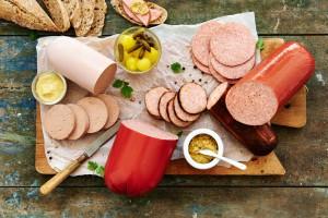 Vleeschwaar vleeswaren schijf van vijf