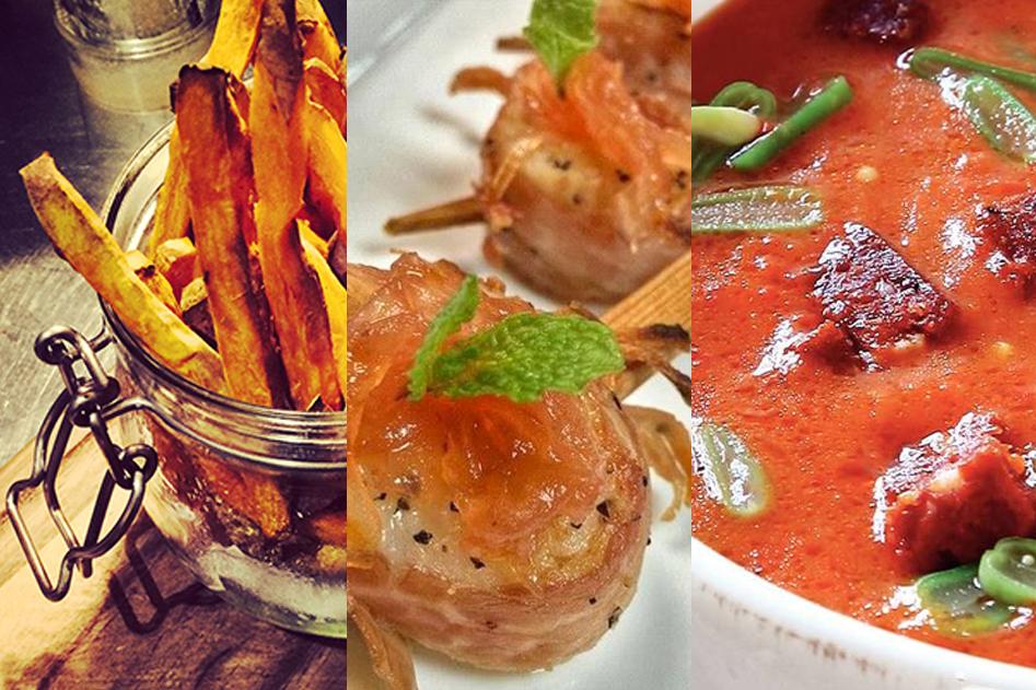 Vleeschwaar recept tip Koningsdag recepten soep oranje patat