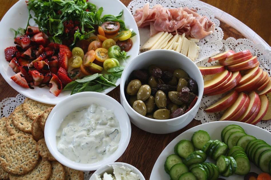 Vleeschwaar salades vleeswaren tip