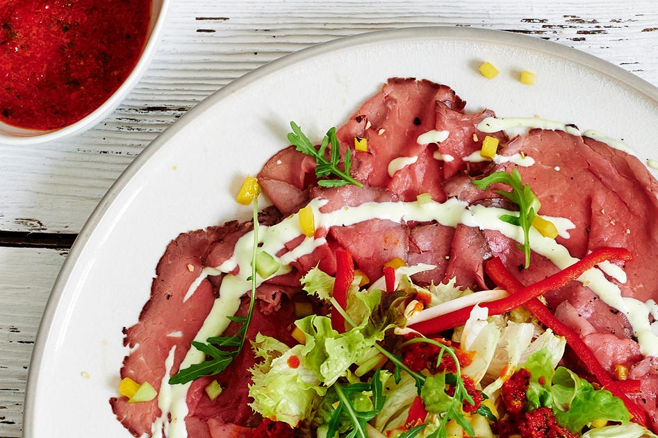 Vleeschwaar vleeswaren waar komt de naam rosbief vandaan de hamvraag