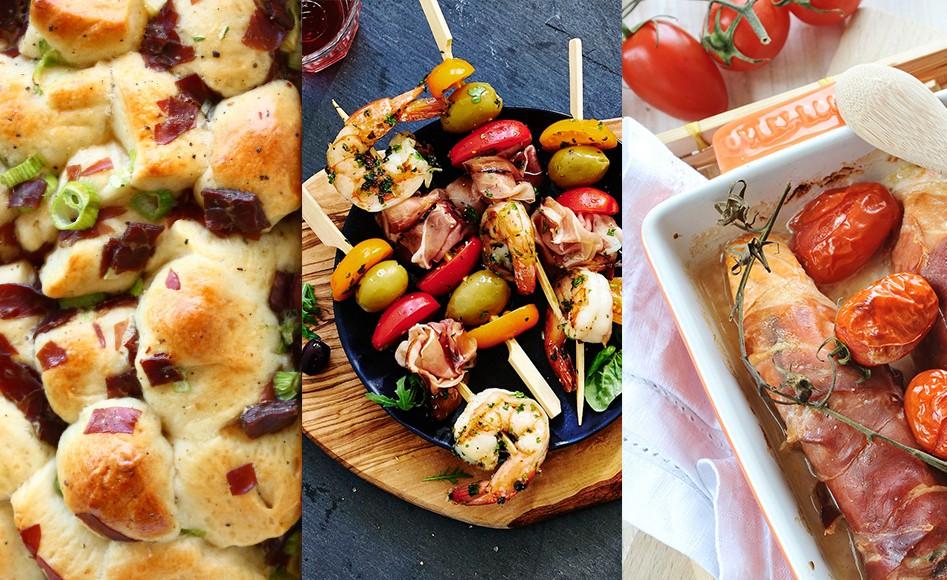 vleeschwaar-vleeswaren-rauwe-ham-recept-tiprollade-surf-turf-brood-brunch-tapas