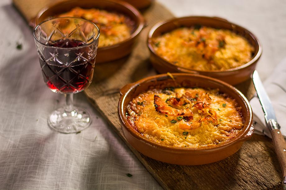 Boterhammenworst lasagne potjes 1 bewerkt