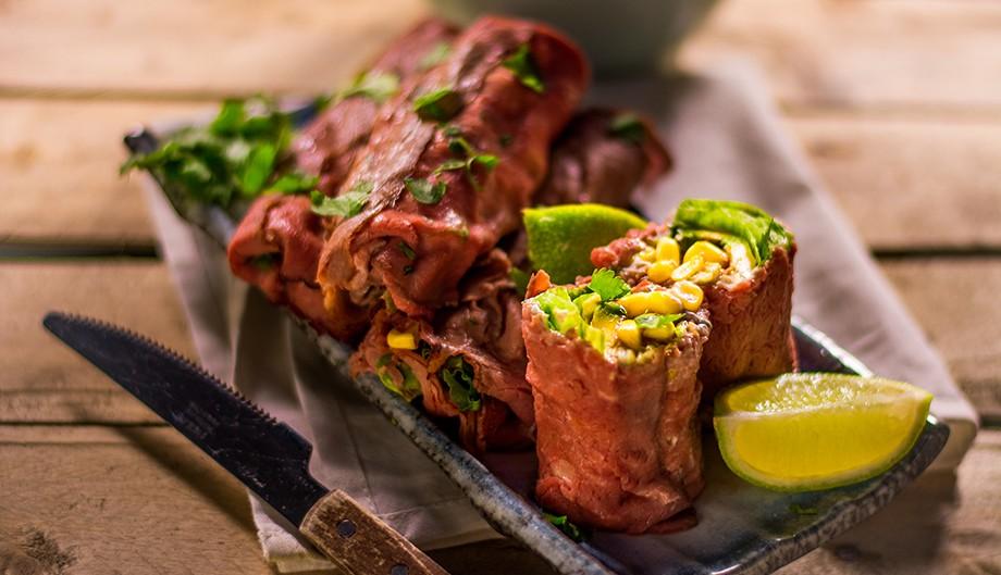 Healthy breakfast burrito 2 bewerkt