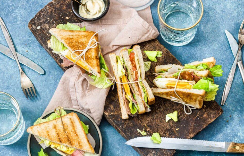 club sandwich vleeswaar