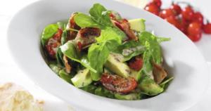 bacon-avocado salade